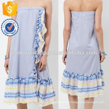 New Fashion Striped Ruffle Summer Mini Daily Skirt DEM/DOM Manufacture Wholesale Fashion Women Apparel (TA5022S)