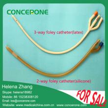 Medical Disposable Latex Foley Catheter, Silicone Foley Catheter