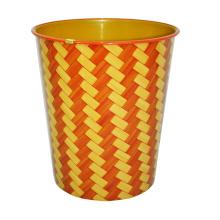 Plastik gestreiftes Design Offene Abfalleimer (A23-827)