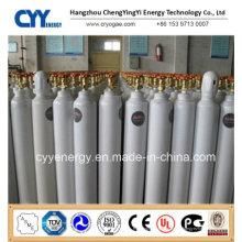 50L nahtloser Stahl-Hochdruck-Argon-Gas-Zylinder (EN ISO9809)