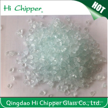 Lanscaping Glass Sand Crush Clear Glass Chips Decorative Glass