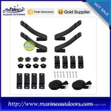 Le porte-bagages de kayak en forme de V pour kayak léger est composé d'acier et de mousse EVA