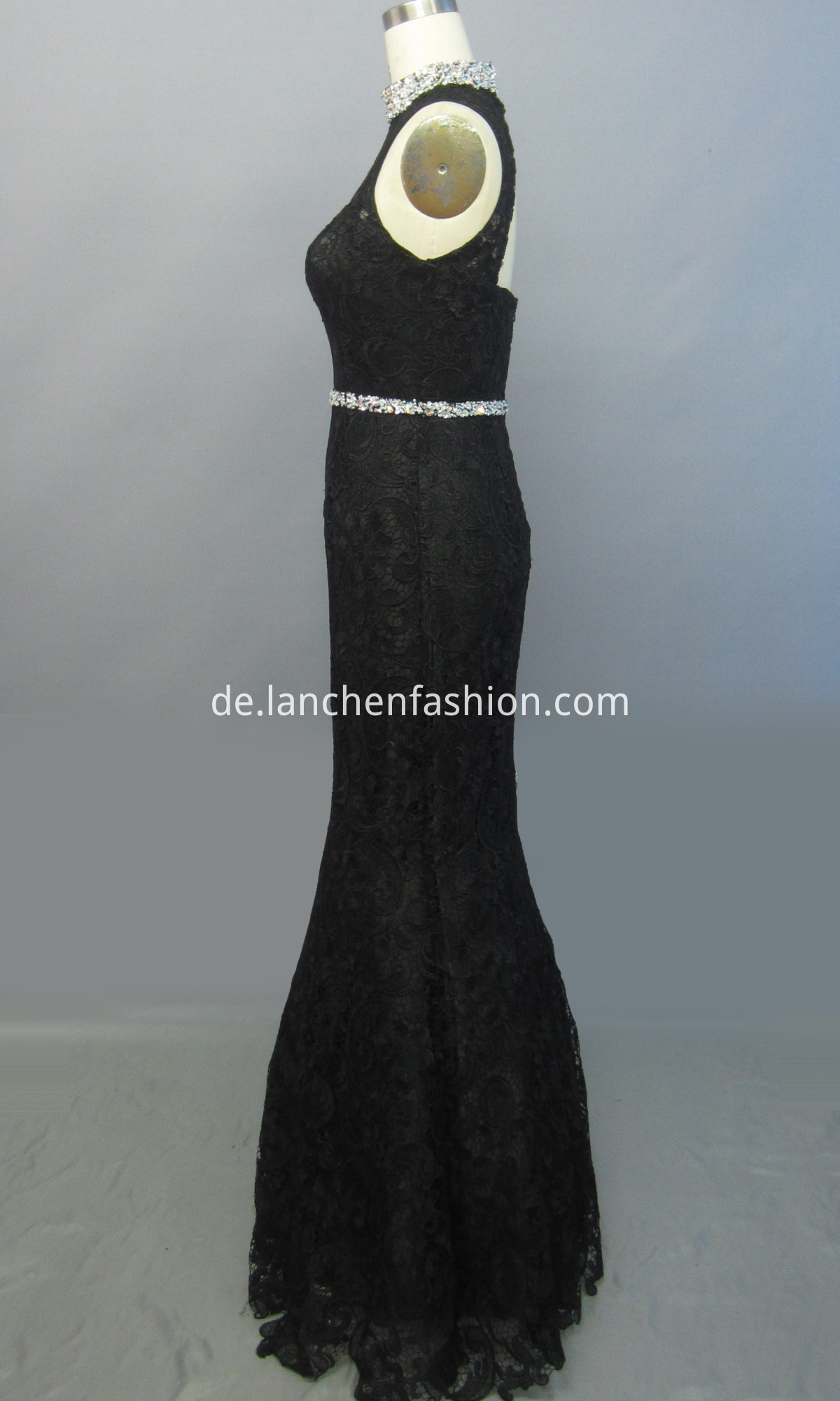 Dress BLACK side