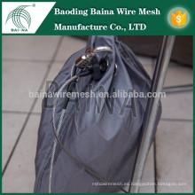 Mano tejida bolsa de malla de acero inoxidable / bolsa de malla de metal hecho en china