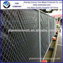 powder coated canada temporary fence/Square Tube welded metal Fence export to Canada , New Zealand , US