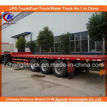 45 pés 3 eixos 40ton caminhão pesado reboque de caminhão para carregamento de contêiner