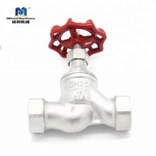 Calidad Industrial manual acero inoxidable aire fundido aire válvula de control válvula de globo precio