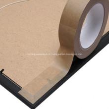 Ruban d'emballage en papier kraft adhésif