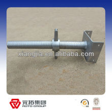 adjustable shoring fork head jack scaffolding