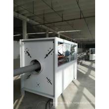 Máquina de fabricación de tubos de PVC de 75-250 mm / línea de producción de extrusión