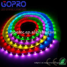 Hochleistungs-IP66 5050 wasserdichte flexible LED-Streifen + IC (TM1804)