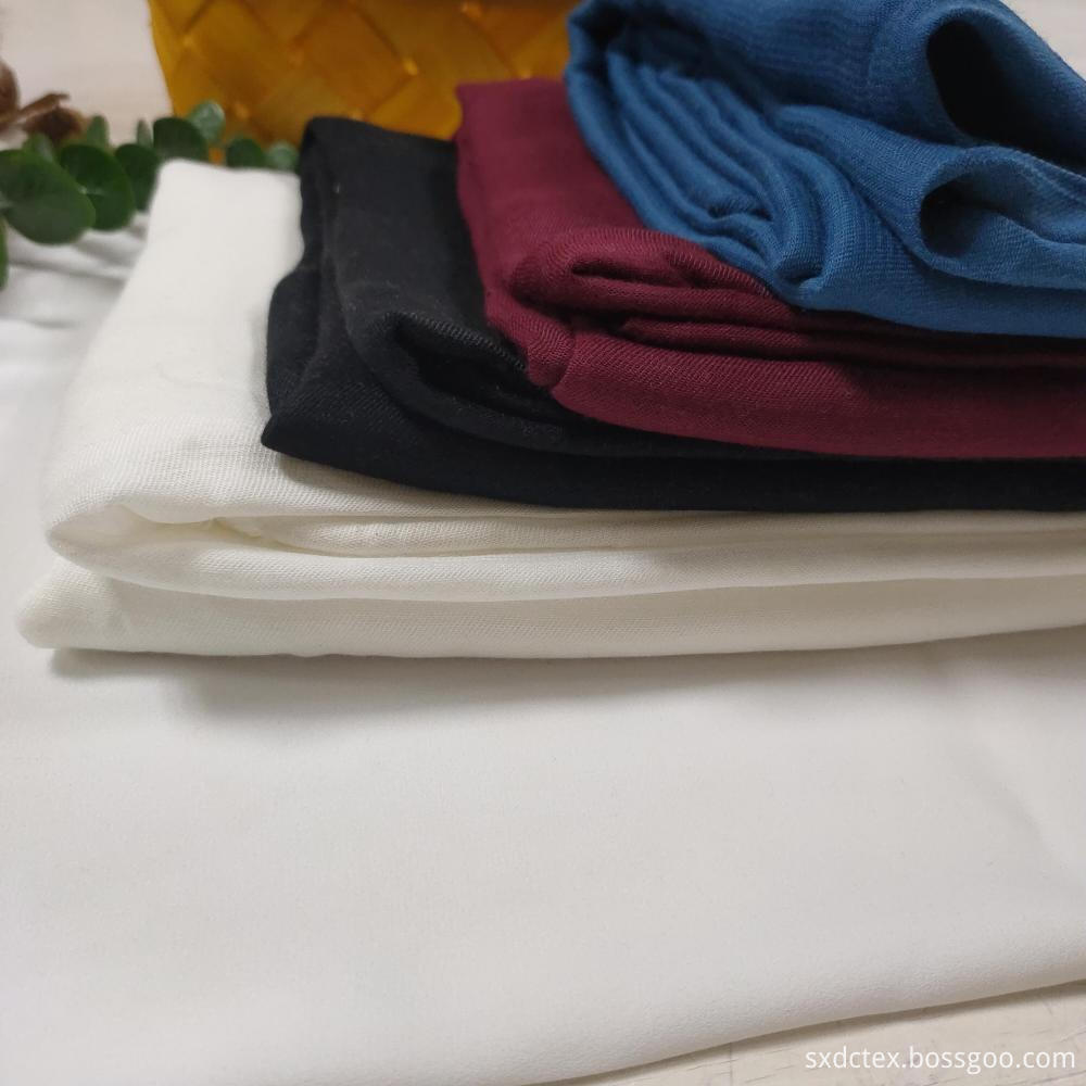 Brethable Viscose RayonTwill Solid Underwear Fabric