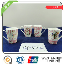 150ml Ceramic Coffee Cup with Holder for Gift