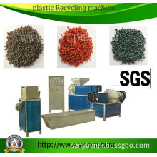 Sj-110 LDPE HDPE LLDPE PP Plastic Film Recycling Machine