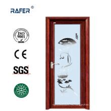 Puerta abatible de vidrio de aluminio (RA-G115)
