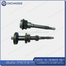 Genuine TFR/TFS Countershaft & Top Shaft Set Z=17 8-94435-143-1,8-94435-160-1