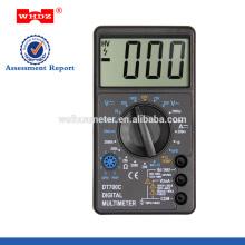 Multímetro digital DT700C con prueba de temperatura de pantalla grande
