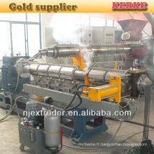 Machine de fabrication de granulés plastiques 150/125 pp pe