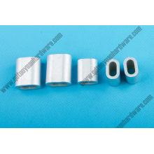 DIN3093 Aluminium Ferrule / Aluminium 8 Form Hülse / Drahtseil Ferrulen