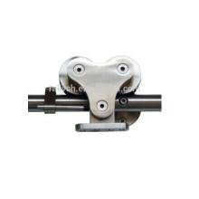 """79""""6.6feet rail sliding barn door kit,Rail and wheels for sliding door,SUS 304/316 hardware"""