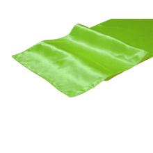 Apple Green Satin Table Runner
