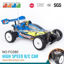 4CH 1:10 scale high speed digital cross-country model rc car with steering wheel remote control