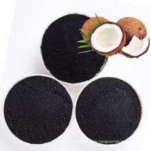 Natürliches Kokosnussschalen-Aktivkohlepulver der hohen Qualität Massen für Zucker Entfärbung