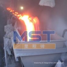 Correia transportadora Coreia da prova da alta qualidade da chama