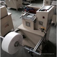Máquina de corte automática de fibra para tecidos não tecidos