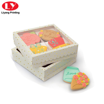 Elegante Design Paper Packaging Box untuk Cookie