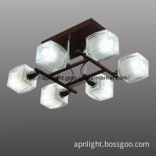 modern lamp with E14 socket and wengue color