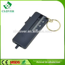 With keychain tire tread depth gauge for promotion