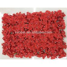Tapis de mur de fleur artificielle en gros pour le décor de mariage