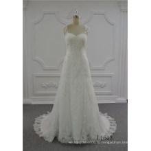 последние мода роскошные свадебные платья 2017-line свадебное свадебные платья цвета слоновой кости
