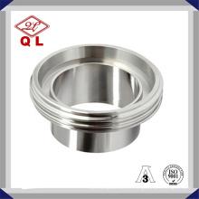 Aço inoxidável sanitário 1/2 polegadas União em acessórios de tubulação