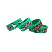 Factory Custom Luminous Rubber Bracelet Silicone Wristband