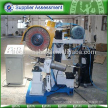 Polishing machine for steel utensil tableware