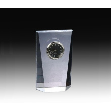 High-grade crystal clock for business
