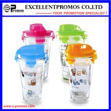 Tasse de voyage en verre à vente chaude avec couvercle pour la vente en gros (EP-LK57274)