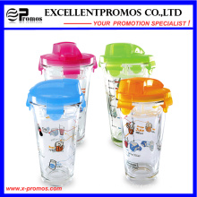 Hot Selling Glass Travel Mug with Lid for Wholesale (EP-LK57274)