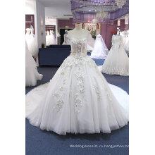 Линия/Принцесса Тонкий Свадебное Платье