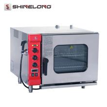 K027 6 plats électriques four de cuisson de Combi d'équipement de cuisson de plateaux