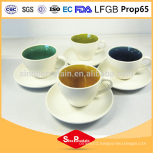 Wholesale products ceramic cups with saucers