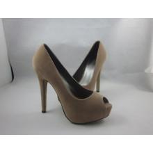 2016 novas mulheres design peep toe sandálias (hyy03-149)