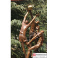 Plaza Art bronzen sculptuur