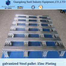 Экспорт Стандартный контейнер оцинкованный стальной Поддон для продажи