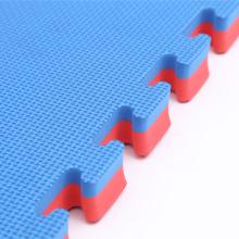 Jigsaw Interlocking Eva Mats - Red/Blue, 1 m x 1 m x 40 mm