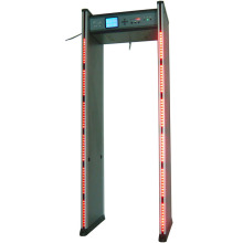 high sensitivity walk through metal detector