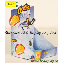 Boîte d'affichage polychrome de l'impression PDQ de Super Markets 4c avec le GV (B & C-D058)