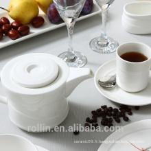 Ensembles de vaisselle en porcelaine fine personnalisée à l'américaine et à la vente chaude / Ensembles de dîner homologués FDA 20pcs